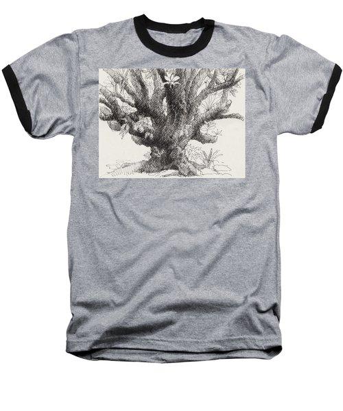 Barringtonia Tree Baseball T-Shirt