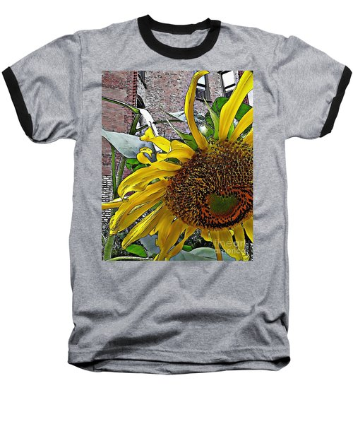 Barrio Sunflower 3 Baseball T-Shirt
