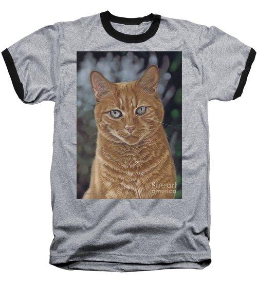 Barry The Cat Baseball T-Shirt