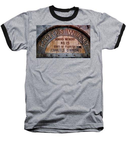 Bartels Winery Baseball T-Shirt