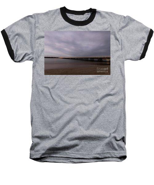 Baseball T-Shirt featuring the photograph Barwon Heads Bridge by Linda Lees