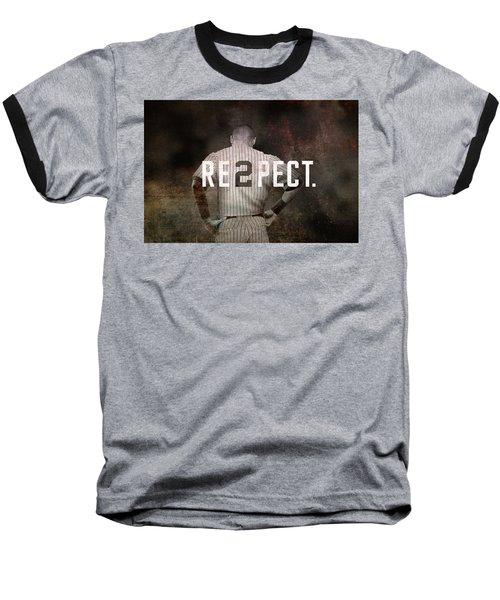 Baseball - Derek Jeter Baseball T-Shirt by Joann Vitali