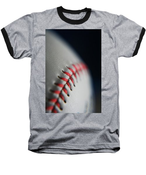 Baseball Fan Baseball T-Shirt by Rachelle Johnston