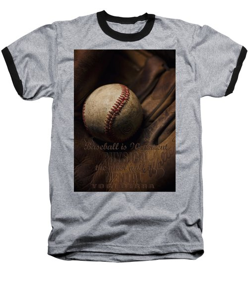 Baseball Yogi Berra Quote Baseball T-Shirt