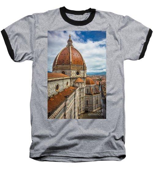 Basilica Di Santa Maria Del Fiore Baseball T-Shirt