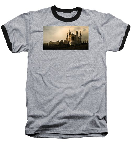 Basilica Of Our Lady Of Fourviere  Baseball T-Shirt