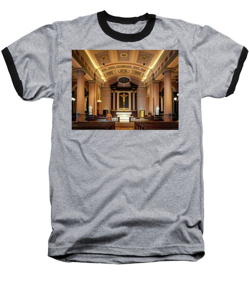 Basilica Of Saint Louis, King Of France Baseball T-Shirt