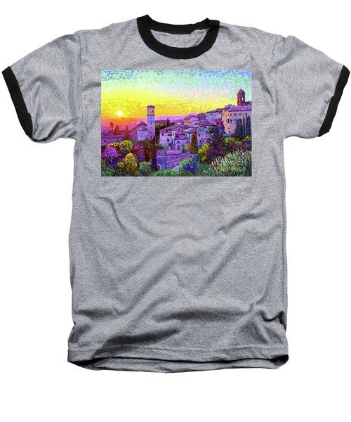 Basilica Of St. Francis Of Assisi Baseball T-Shirt