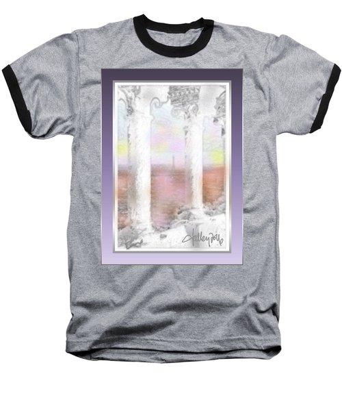 Sacre - Coeur Sunset Baseball T-Shirt