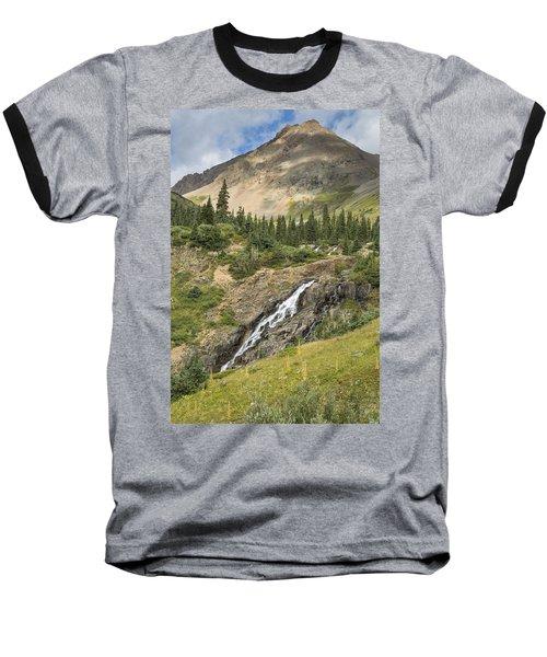 Basin Falls II Baseball T-Shirt