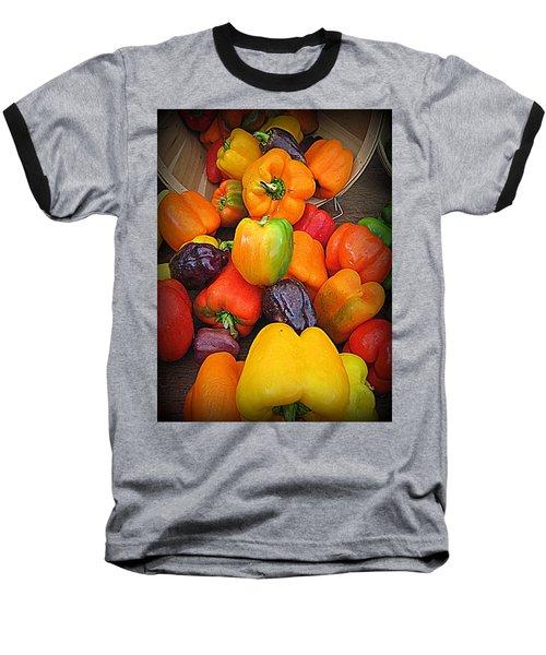 Basket Full O'peppers Baseball T-Shirt