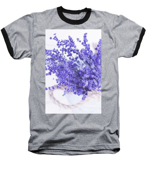 Basket Of Lavender Baseball T-Shirt
