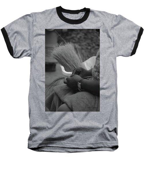 Basket Weaver Baseball T-Shirt