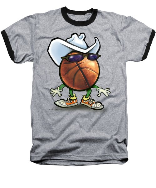 Basketball Cowboy Baseball T-Shirt
