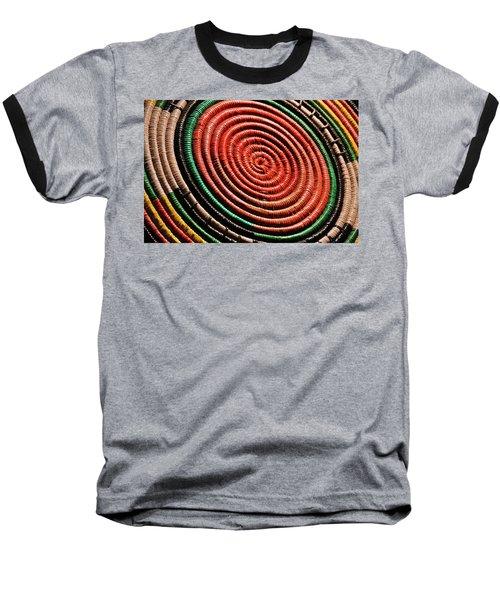 Basketry Color Baseball T-Shirt