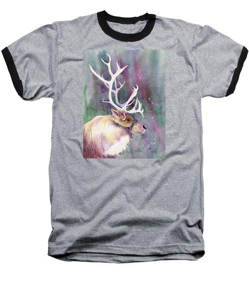 Basking In The Lights Baseball T-Shirt
