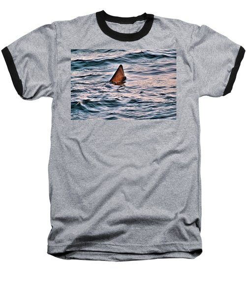 Basking Shark In July Baseball T-Shirt