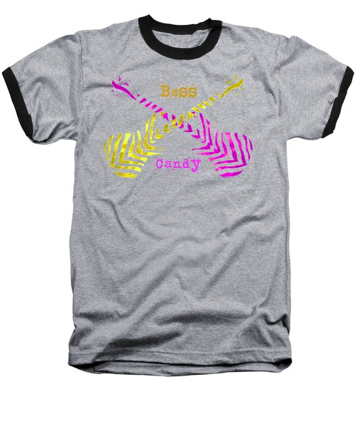Bass Candy Baseball T-Shirt
