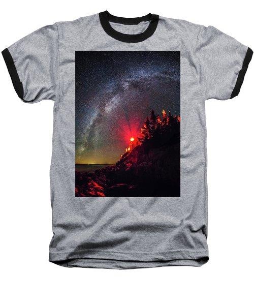 Bass Harbor Head Light Baseball T-Shirt