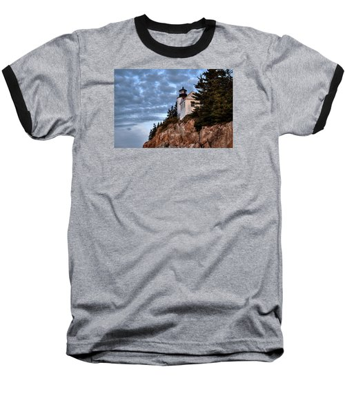 Bass Harbor Light No. 2 - Acadia - Maine Baseball T-Shirt