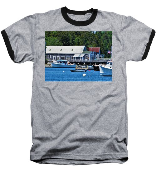 Bass Harbor Maine Baseball T-Shirt