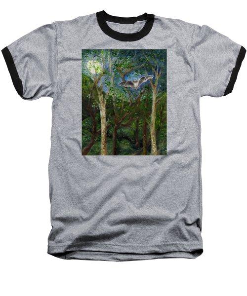 Bat Medicine Baseball T-Shirt by FT McKinstry