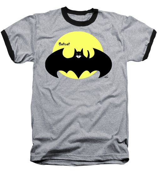 Batcat Baseball T-Shirt