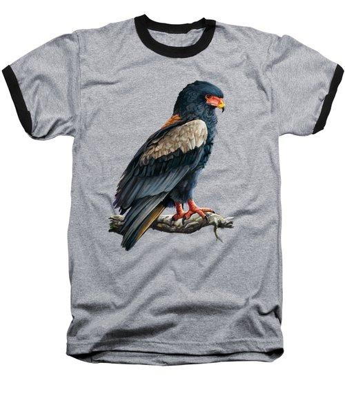 Bateleur Eagle Baseball T-Shirt