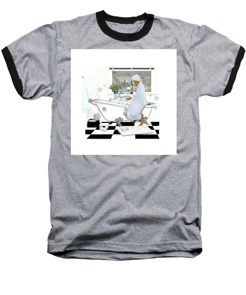 Bath And Wine With Style Baseball T-Shirt