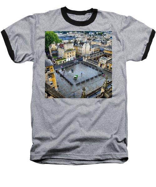 Bath Square Baseball T-Shirt