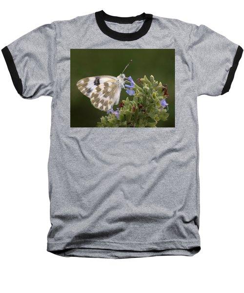 Bath White Baseball T-Shirt