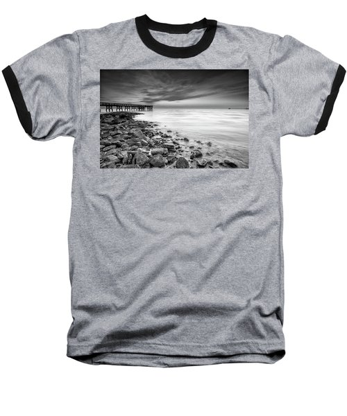 Bathe In The Winter Sun Baseball T-Shirt