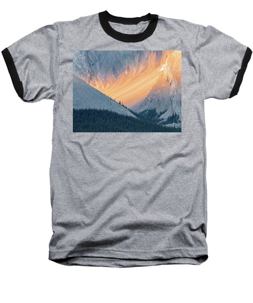 Baseball T-Shirt featuring the photograph Bathed In Light by Carl Amoth