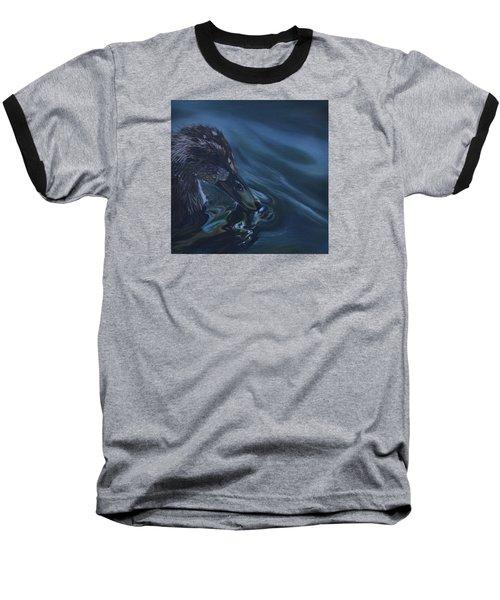 Bathing Duckline Baseball T-Shirt