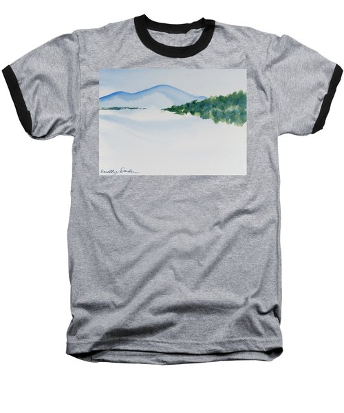 Bathurst Harbour Reflections Baseball T-Shirt