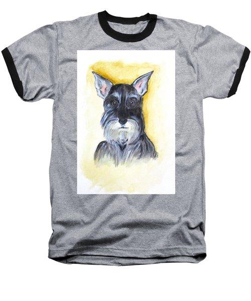 Batman Bouser Baseball T-Shirt by Clyde J Kell