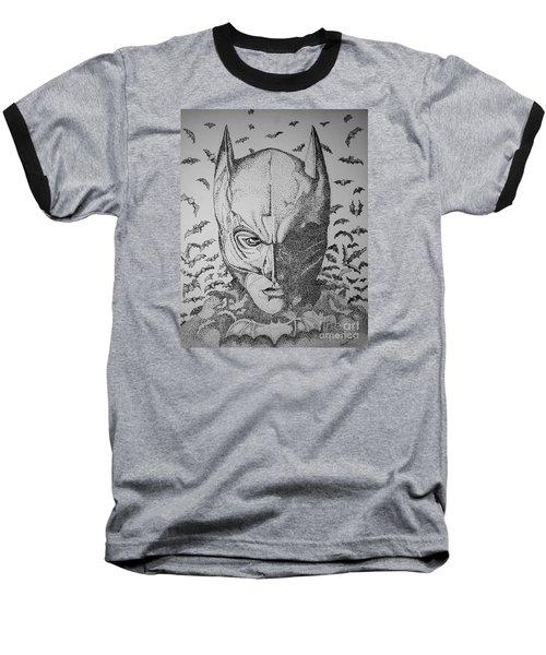 Batman Flight Baseball T-Shirt