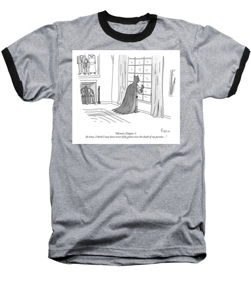 Batman Memoir Chapter 1 Baseball T-Shirt