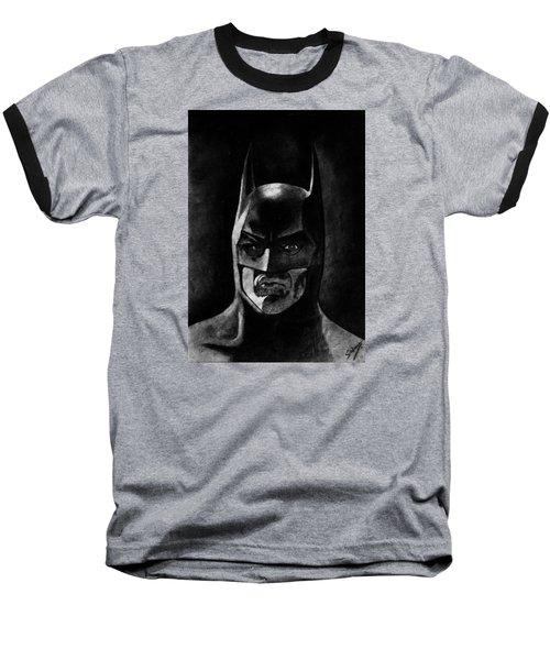 Batman Baseball T-Shirt by Salman Ravish