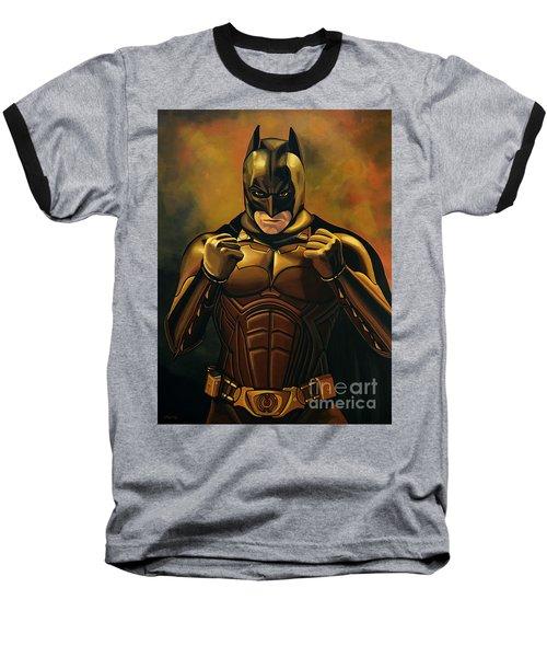 Batman The Dark Knight  Baseball T-Shirt