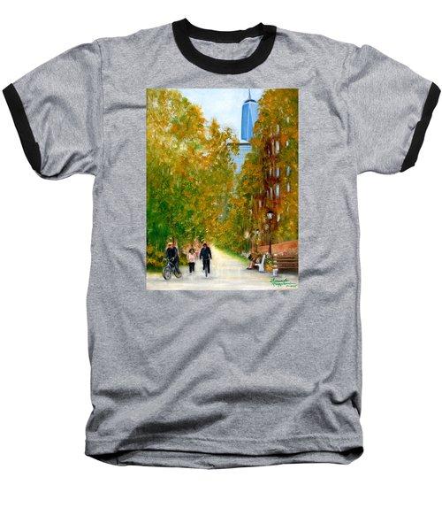 Battery Park City Ny Baseball T-Shirt