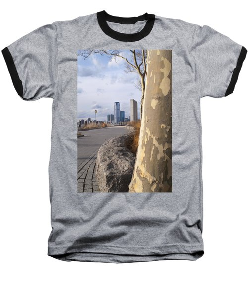Battery Park Baseball T-Shirt by Henri Irizarri