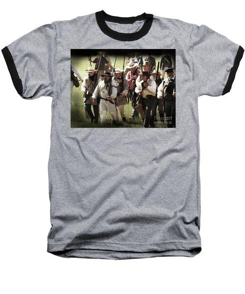 Battle Of San Jacinto Baseball T-Shirt