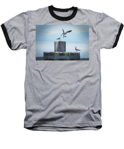 Battle Of The Gulls Baseball T-Shirt
