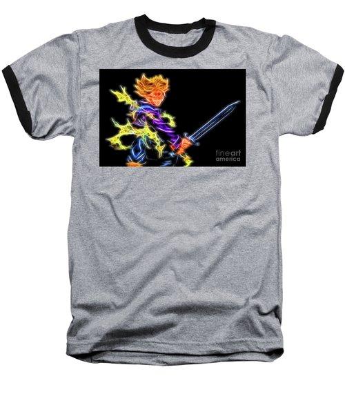 Battle Stance Trunks Baseball T-Shirt