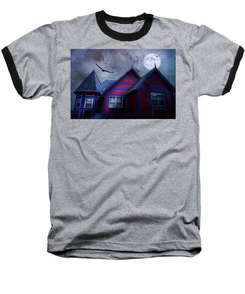 Baseball T-Shirt featuring the photograph Battle Street West by Theresa Tahara