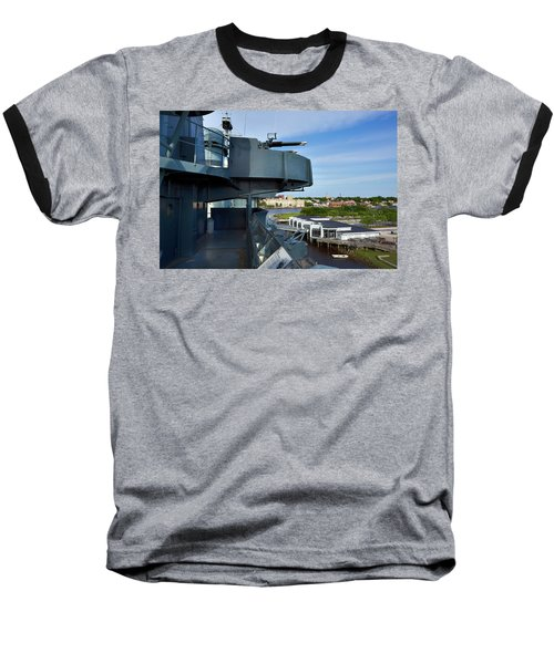 Battleship View Of Wilmington Nc Baseball T-Shirt