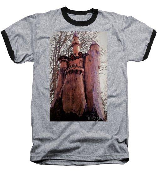 Bavarian Castle Baseball T-Shirt by John Williams