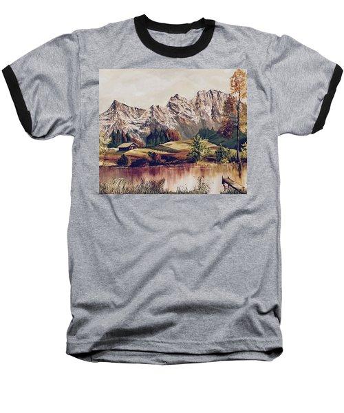 Bavarian Landscape Baseball T-Shirt