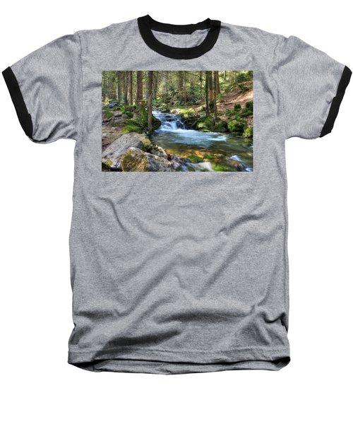 Bavarian Stream Baseball T-Shirt by Sean Allen